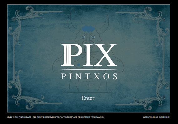 Pix Pintxos commissioned a website to promote their tapas bars in Central London and engage with their existing clientel.